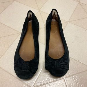Ugg Suede Leather Ribbon Flats size 9